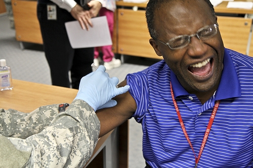 Flu vaccinations make their way to U.S. Army in Europe