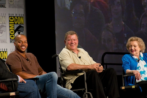 Donald Faison, William Shatner & Betty White