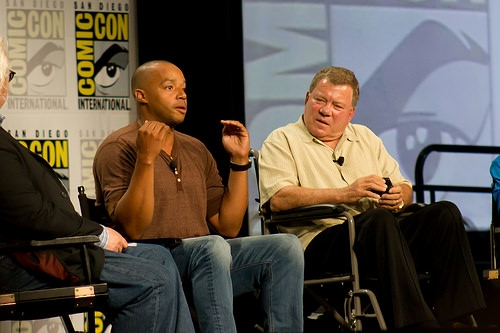 Donald Faison & William Shatner