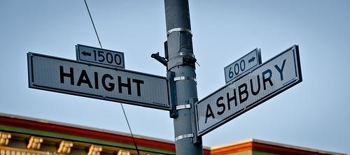 Haight-Ashbury Street Sign