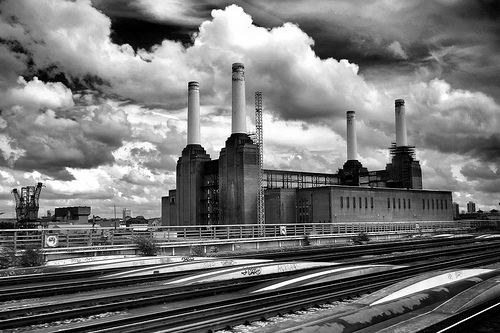 Battersea Power Station (as featured on the cover of Pink Floyd - Animals)