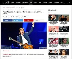 McCartney a Judge No