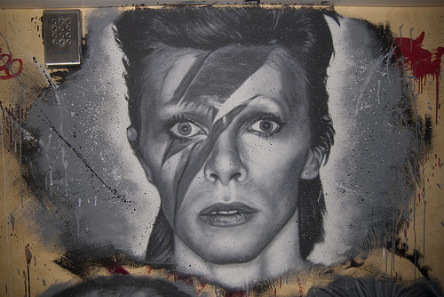 David Bowie, painted portrait _DDC2085